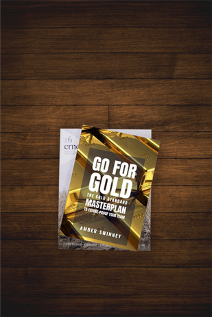 Go for Gold Book Shot