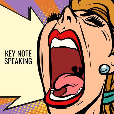 Key Note Speaking