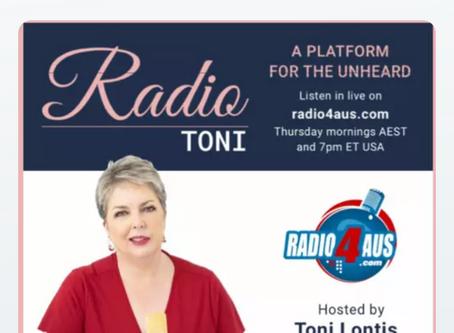 Interview with Judythe on Radio Toni Australia