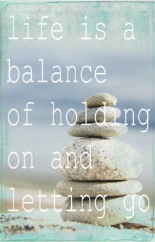 WHAT IS BALANCE FOR YOU?
