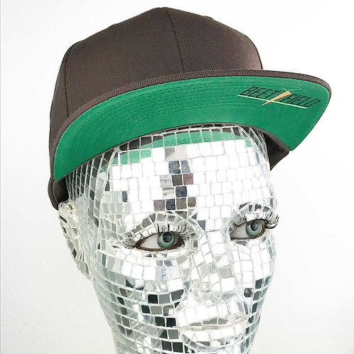 BEETFIELD Cap brown-green Uni