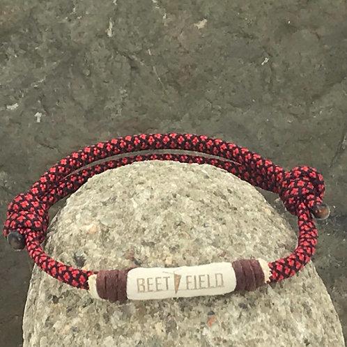 Armband red diamond Uni*