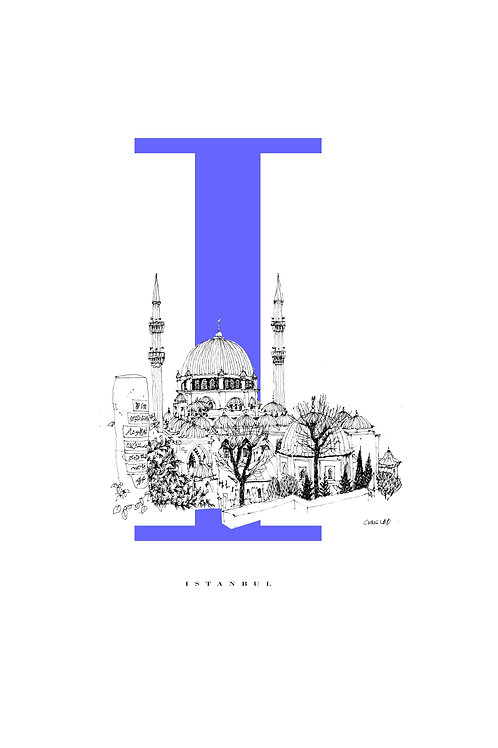 I is for Istanbul