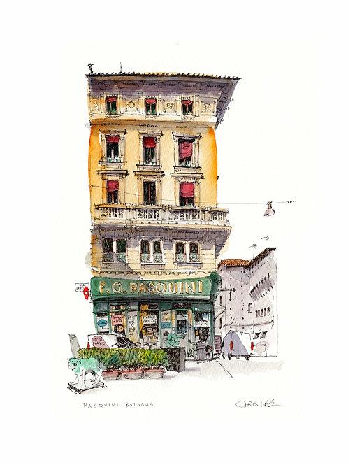Pasquini, Bologna