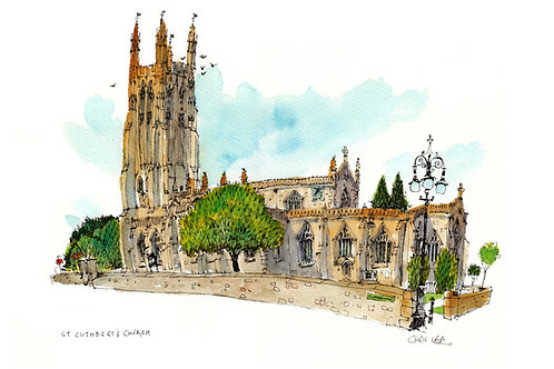 St Cuthbert's, Wells