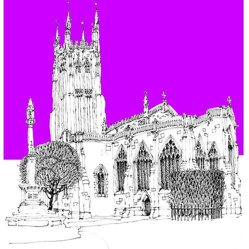 St Cuthbert's Purple