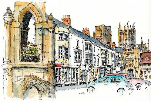 Market Square, Wells