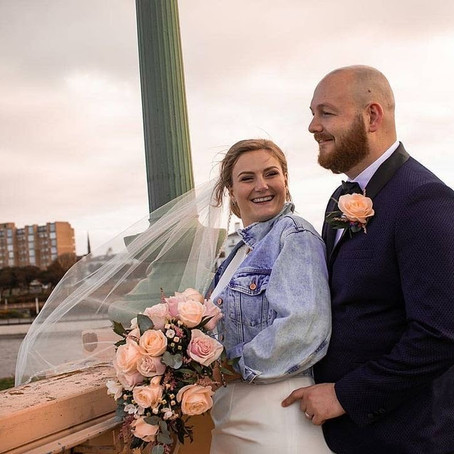 Katie & Dayne elopement under a bridge