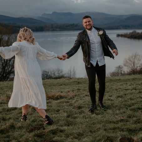 Dani & Scott Elope to the Lake District
