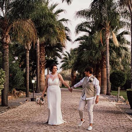 Sharon & Sue in The Algarve