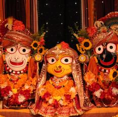 Baladev, Subhadra, and Jagannath (K.D. McComb)