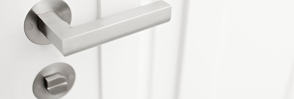 TWO  - Solid Double Sprung Lever Handle