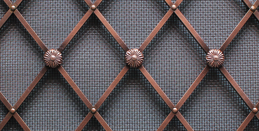 Decorative Grilles & Meshes by Gregory Croxford Living