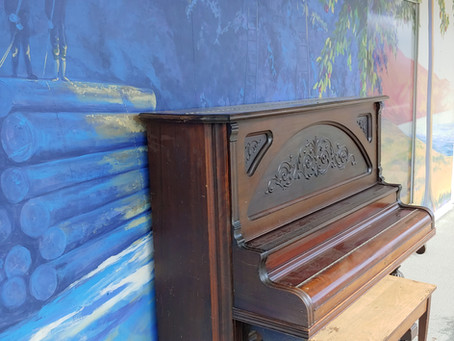 Out Door Piano For Everyone to Enjoy