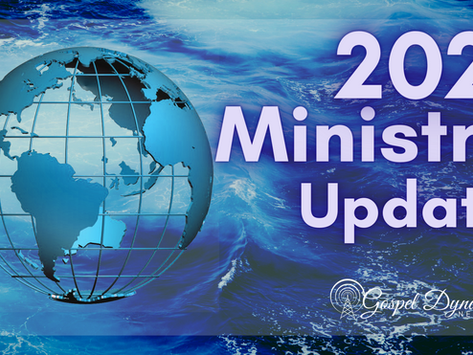 2021 Ministry Update