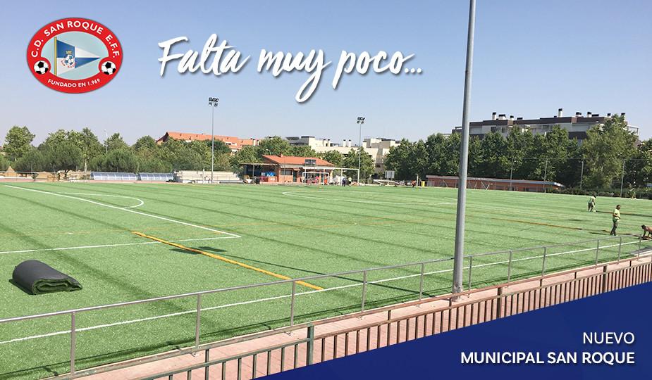 Nuevo campo Municipal San Roque (Madrid - Barajas)