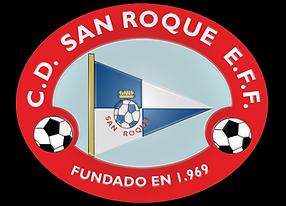 Escudo C.D SAN ROQUE E.F.F