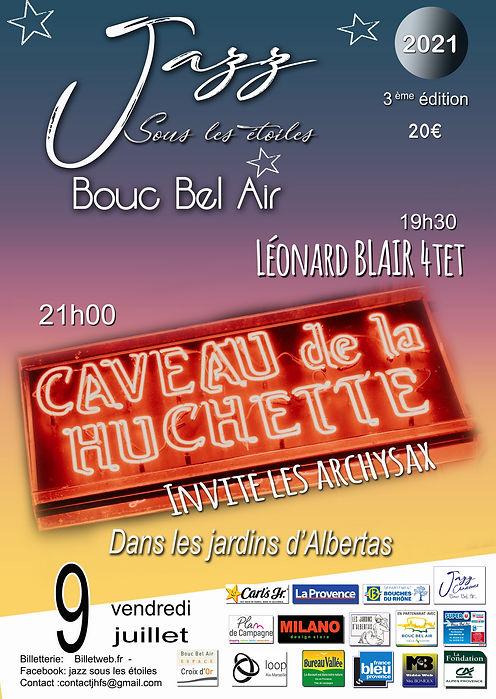 Affiche  JAZZ Bouc bel air 2021  0705202