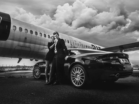 James Bond na mariborskem letališču