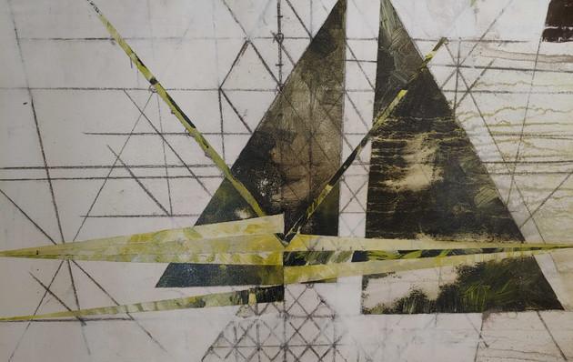 """Carlos Abstract - 36""""x36"""""""