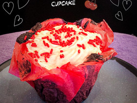 We are now offering a Chocolate Cherry Cupcakes!