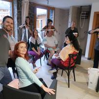 Príprava na ajurvédsku masáž hlavy
