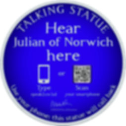 Talking Statue - Norwich (Julian of Norw