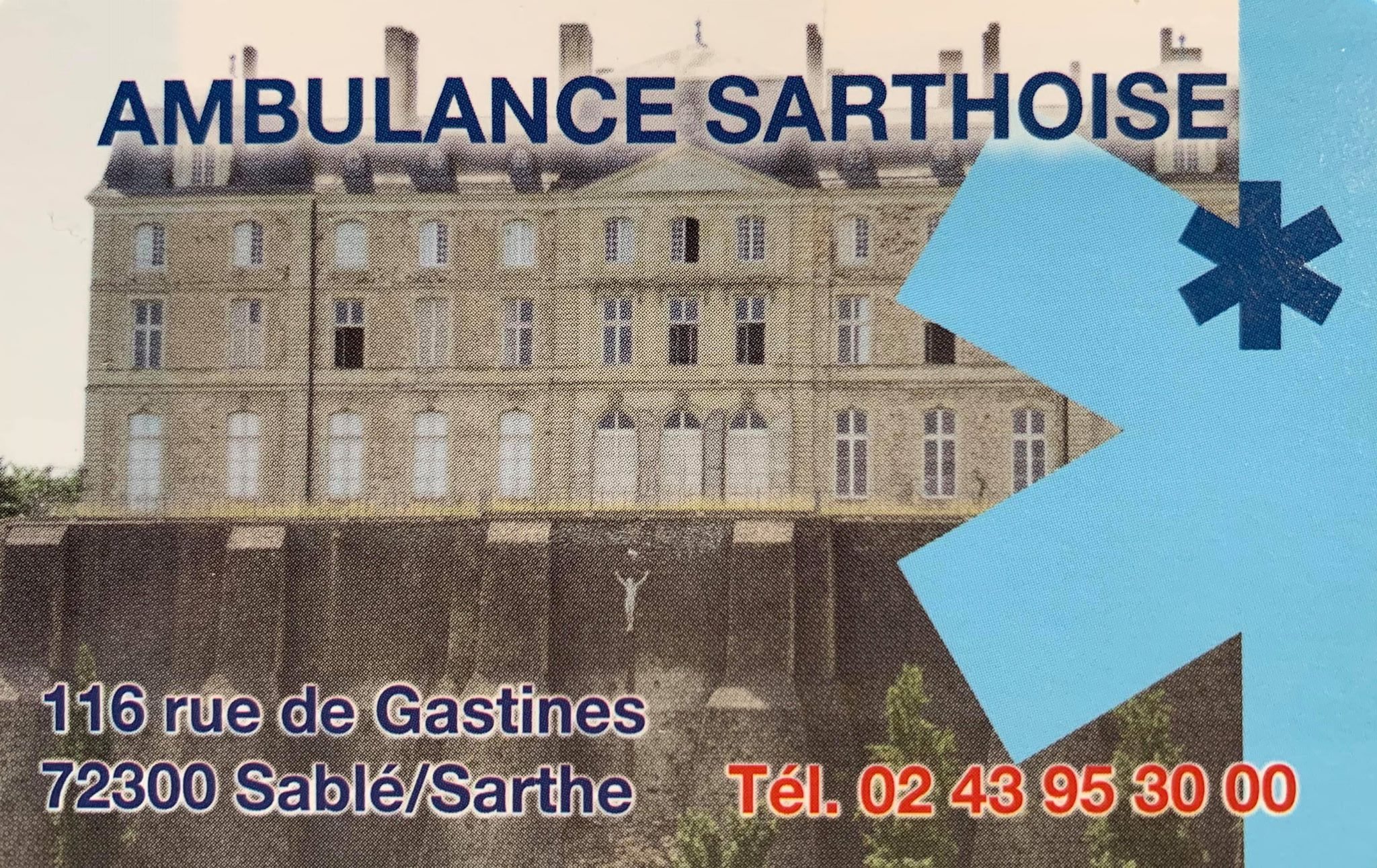 Ambulance Sarthoise