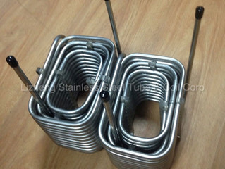 Stainless Steel Helical Coil For Food Industry