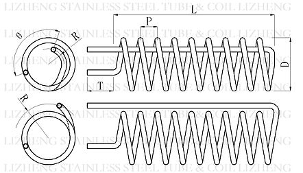 Helical Coil Drawing