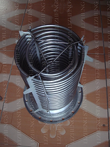 Titanium Nested Helical Coil Heat Exchanger