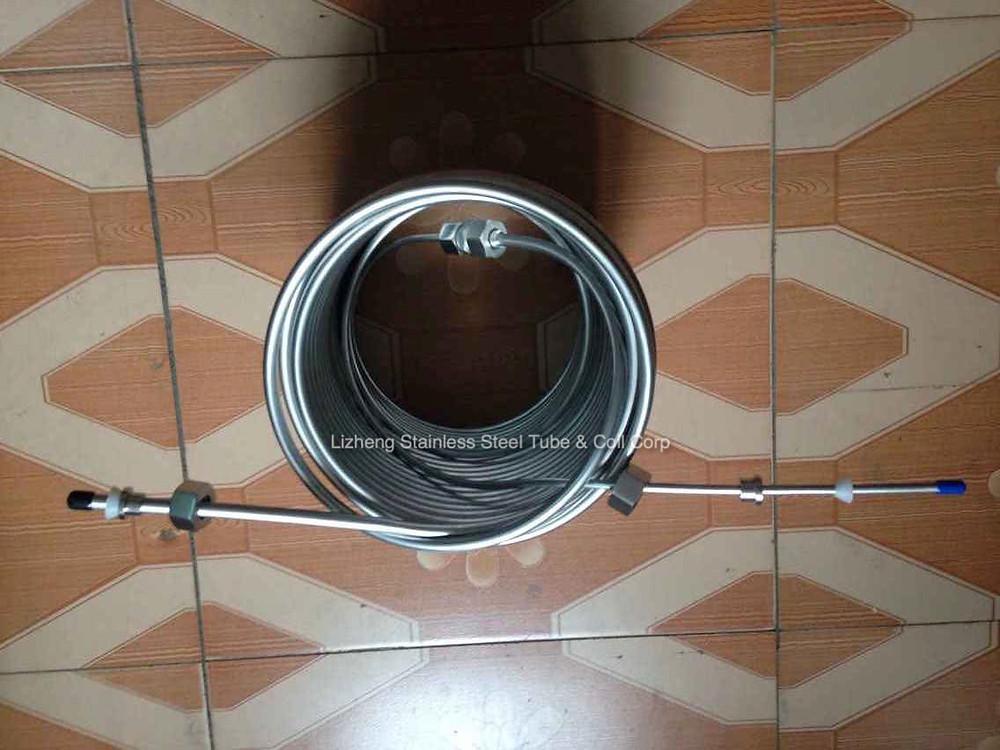 120' Jockey box cooling coil