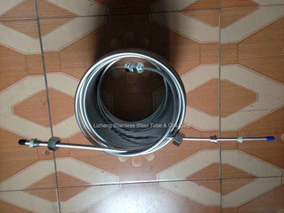 Copper tube coil or Stainless Steel tube coil in Brewing