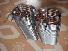 box shaped coil heat exchanger