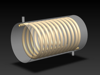 Helical Coil Heat Exchanger Design