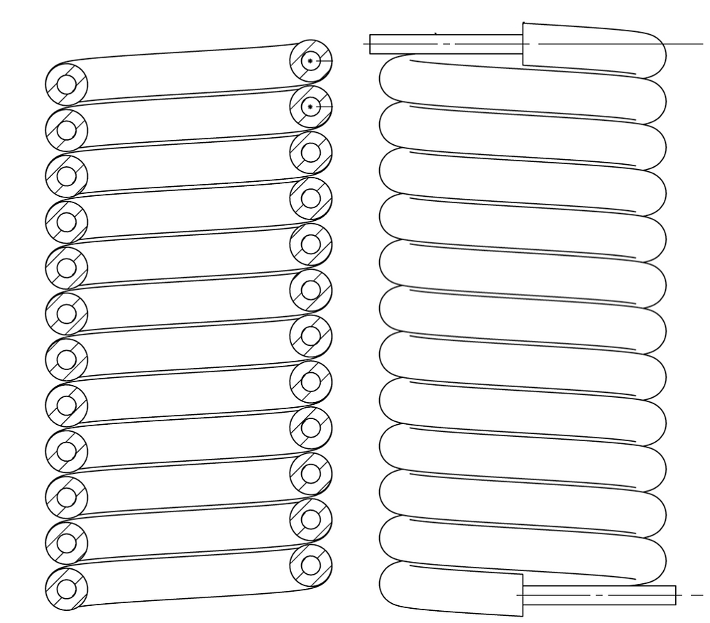 finned tube coil heat exchanger