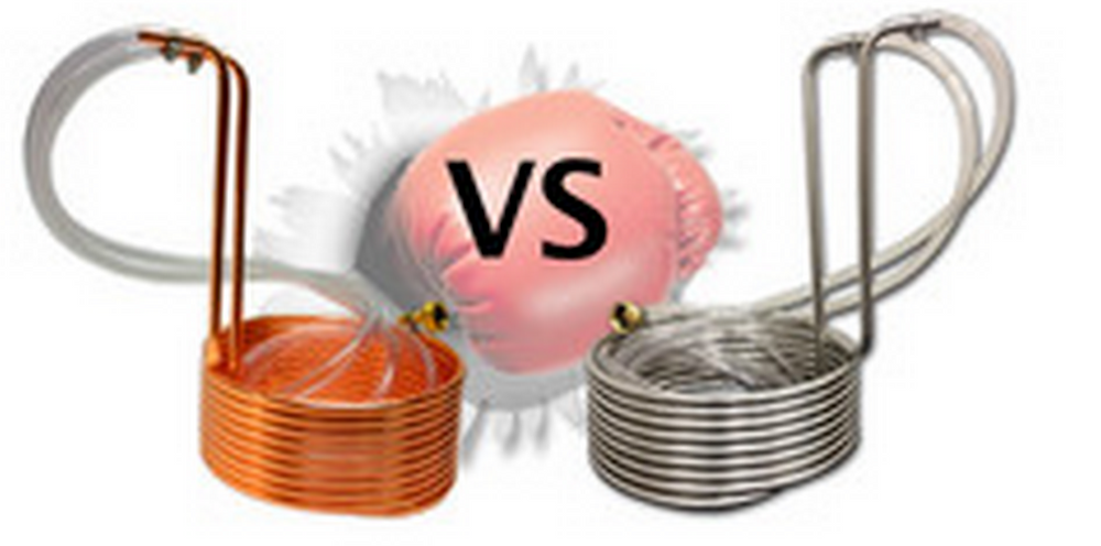 Copper Coil vs Stainless Steel Coil