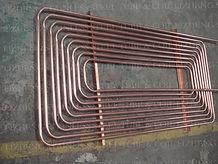 Copper flat spiral coil