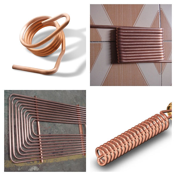 Copper Tube Helical Coil Heat Exchanger