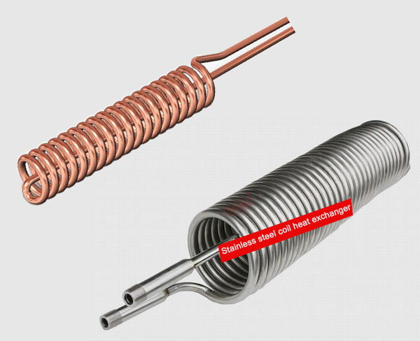 stainless steel cooling coil vs. copper cooling coil