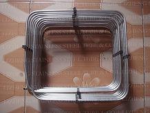 Doule-layer box shape coil