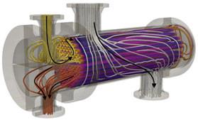Stainless Steel Tube & Shell Heat Exchanger