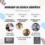 I workshop de escrita científica