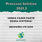 Processo Seletivo - Quimlabor Jr. 2021/2