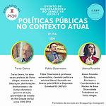 Políticas Públicas no contexto atual