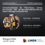Interconnect | Criatividade & Técnica: Uma jornada de empreendedorismo pelo design industrial
