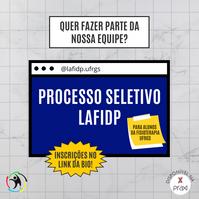 Processo Seletivo LAFIDP 2021