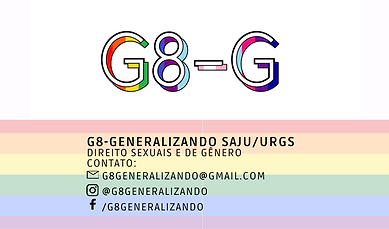 Grupo G8-Generalizando - SAJU/UFRGS