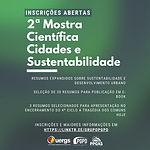 Participe do 2º e-Book Cidades e Sustentabilidade