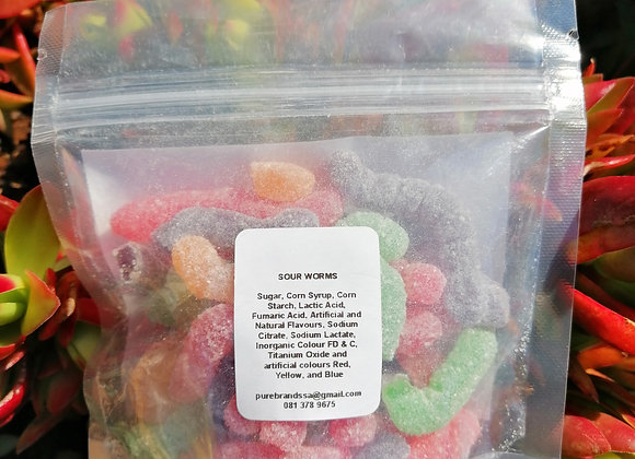 Sour Worms 100g